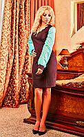 """Женское платье """"Золушка 01"""" (коричневый)"""