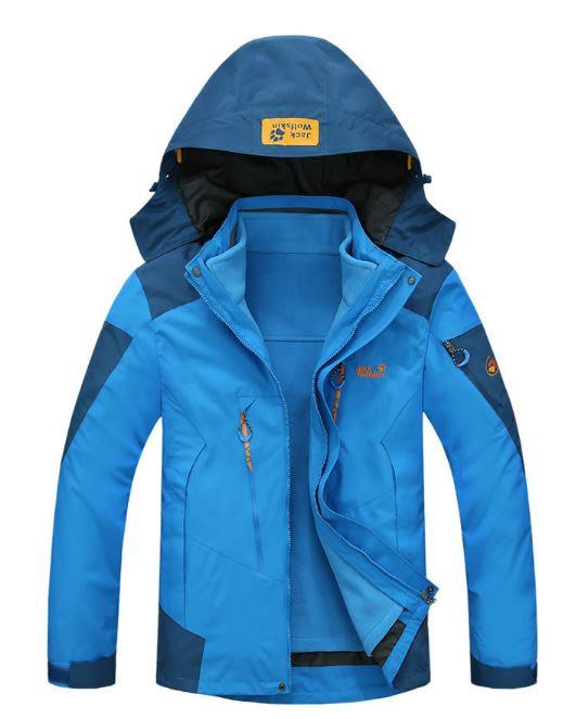 083a664bf28b Мужская куртка 3 в 1 JACK WOLFSKIN. Куртки спортивные. Зимние куртки  мужские. Водонепроницаемые