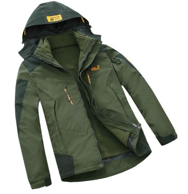 229c5455dc99 Водонепроницаемые Мужская куртка 3 в 1 JACK WOLFSKIN. Куртки спортивные.  Зимние куртки мужские.