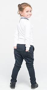 Штаны для девочек классические джинсовые