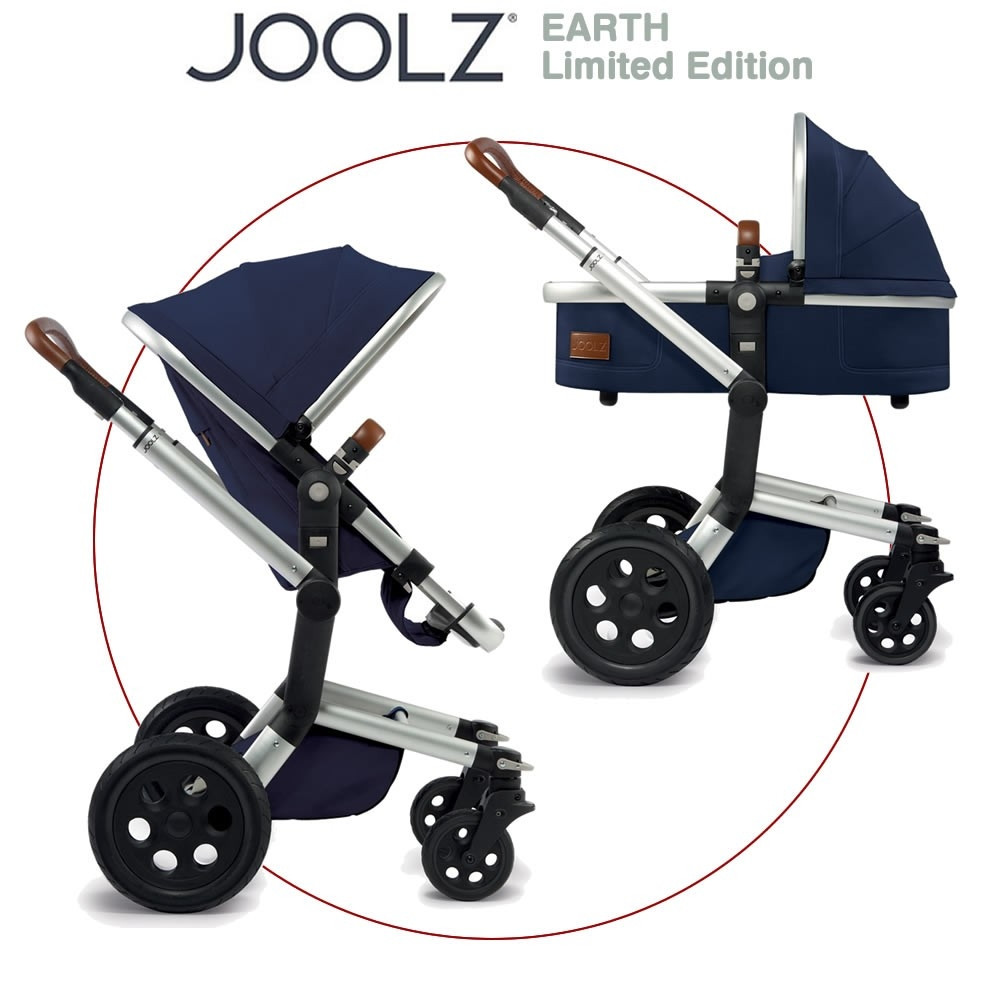 Joolz Day Earth цвет Parrot Blue