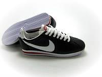 Крутые кроссовки мужские Nike Cortez черного цвета