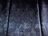 Подкладка вискозная Огурцы (т. фиолетовый) (арт. 03176)