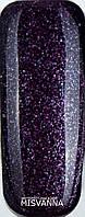 Гель лак Master Professional 10  мл №137 Фиолетовый с микро блестками