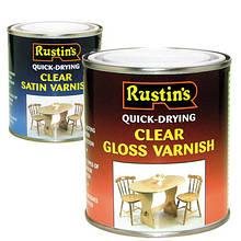 Швидковисихаючі прозорі лаки Clear Varnish