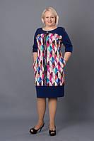 Платье женское оригинальное повседневное р.52-58 V261