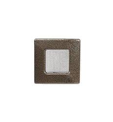 Решетка каминная антик золото 11х11см (посадочный 9х9)