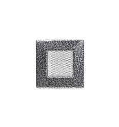 Решетка каминная антик серебро 11х11см (посадочный 9х9)