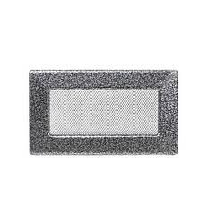 Камінна решітка антик срібло 17х11см (посадковий 15х9)