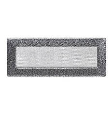 Камінна решітка антик срібло 42х11см (посадковий 40х9)