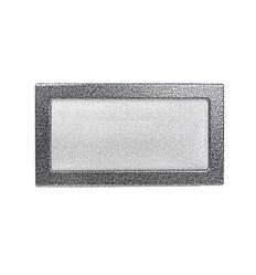 Камінна решітка антик срібло 30х17см (посадковий 28х15)