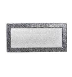 Камінна решітка антик срібло 37х17см (посадковий 35х15)