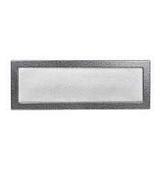 Камінна решітка антик срібло 49х17см (посадковий 47х15)