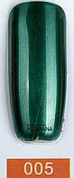 Гель лак Master Professional Mirrow (с ефектом зеркала) 10 ml Зеленый №5