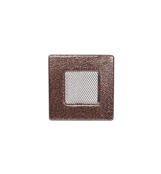 Камінна решітка антик мідь 11х11см (посадковий 9х9)