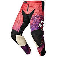 "Брюки Alpinestars CHARGER текстиль red/purple ""XS""(28), арт. 3721214 383, арт. 3721214 383"