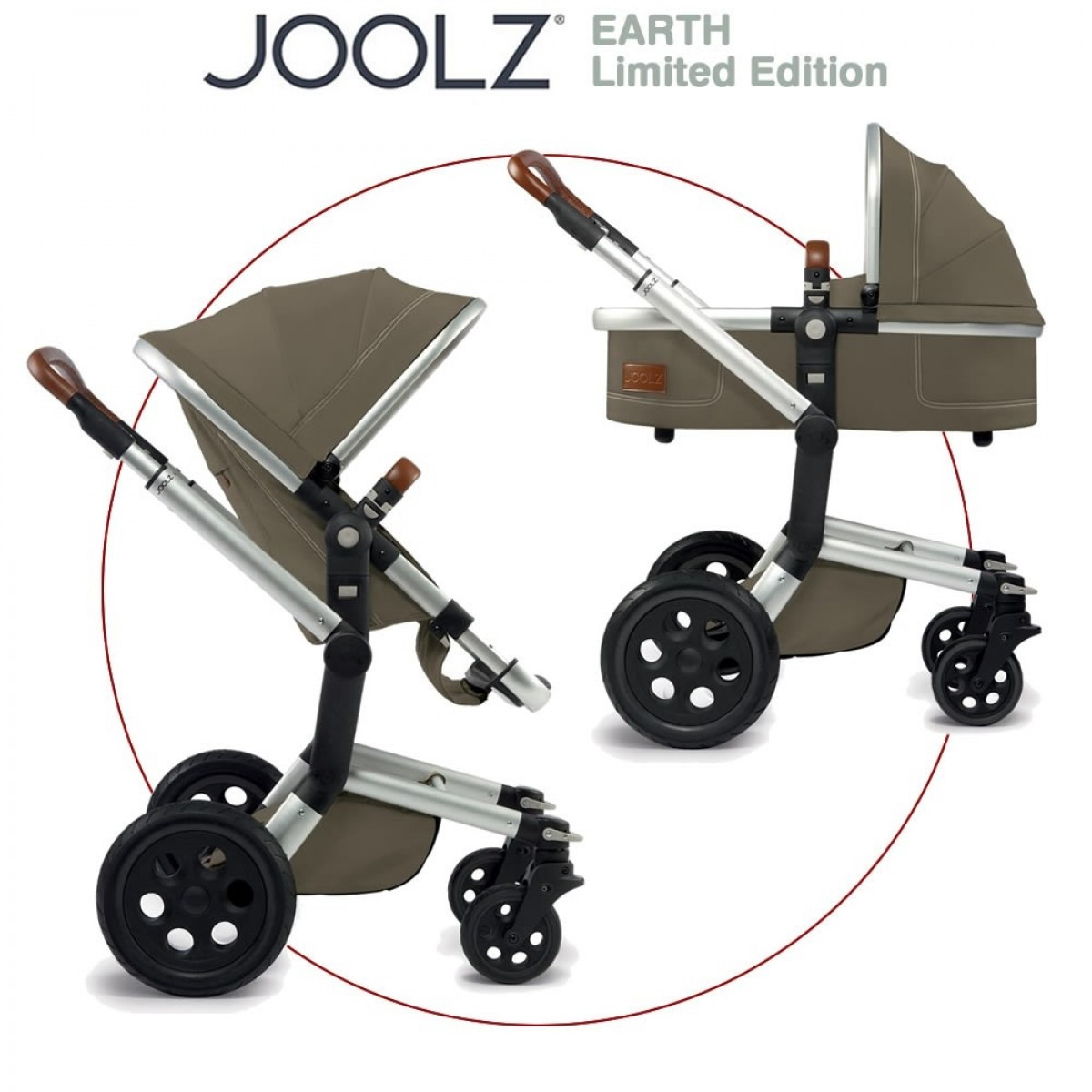 Joolz Day Earth цвет Thurtle Green