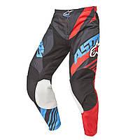 Брюки Alpinestars RACER SUPERMATIC текстиль black/red/blue XL(36)
