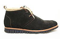 Распродажа по оптовым ценам!! Зимние замшевые мужские ботинки KONORS