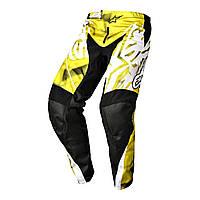 "Брюки Alpinestars RACER текстиль yellow/black ""M""(32), арт. 3721514 51, арт. 3721514 51"