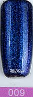 Гель лак Master Professional хамелеон 10 ml  Темно синий с блестками №9