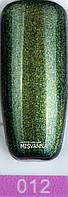 Гель-лак Master Professional хамелеон 10 ml  Салатовый с микро блестками  №12