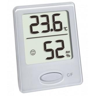 Термогигрометр цифровой TFA, 46x18x59 мм, белый 30504102