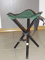 Раскладной стул для рыбалки зеленый