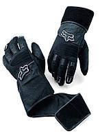 Вело перчатки FOX Static Wrist Wrap черные, M (9)