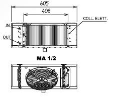 Воздухоохладители МА 1 ED S.E.R. (Италия)