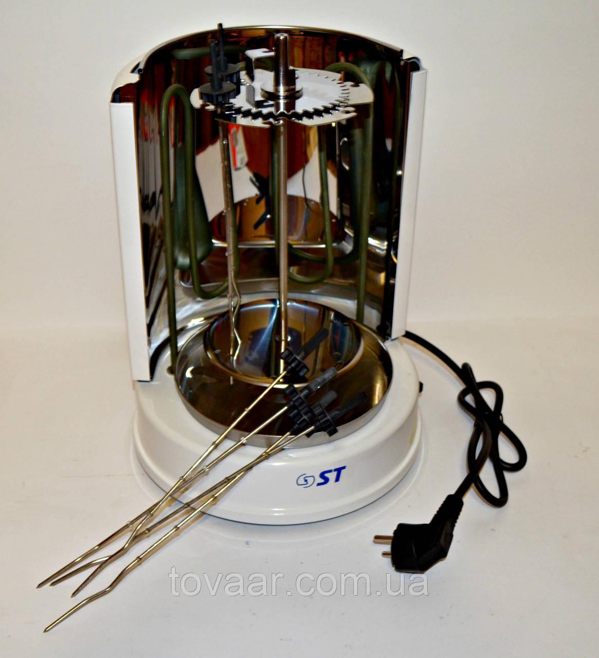 Электрошашлычница ST 60-140-01 с отражателем, 3 в 1