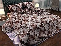 """Двуспальный комплект постельного белья из бязи """"Gold"""" №247"""