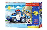 Пазлы Полицейский патруль, 20 элементов maxi, Castorland С-02252, фото 2