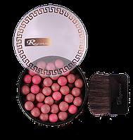 Румяна шариковые с бархатистым эффектом Black&Gold SILKY FACE Relouis B316mix black