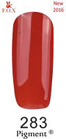 Гель-лак F.O.X. Pigment №283 кираичный эмаль 6 ml