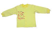 Кофточка желтого цвета 74-80