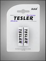 Батарейки щелочные Tesler Alkaline AA LR6 блистер 2 шт
