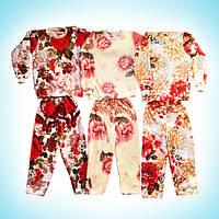 Пижама махровая для девочки подростка