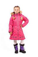 Зимнее пальто для девочки Gusti GWG 6461. Размер  110 - 140.