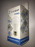 Светодиодная лампа Z- LIGHT ZL1003 12W А60 E27 4000K Код.58780