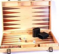 Настольная игра нарды изготовлены из тикового дерева Duke  AD1802-01