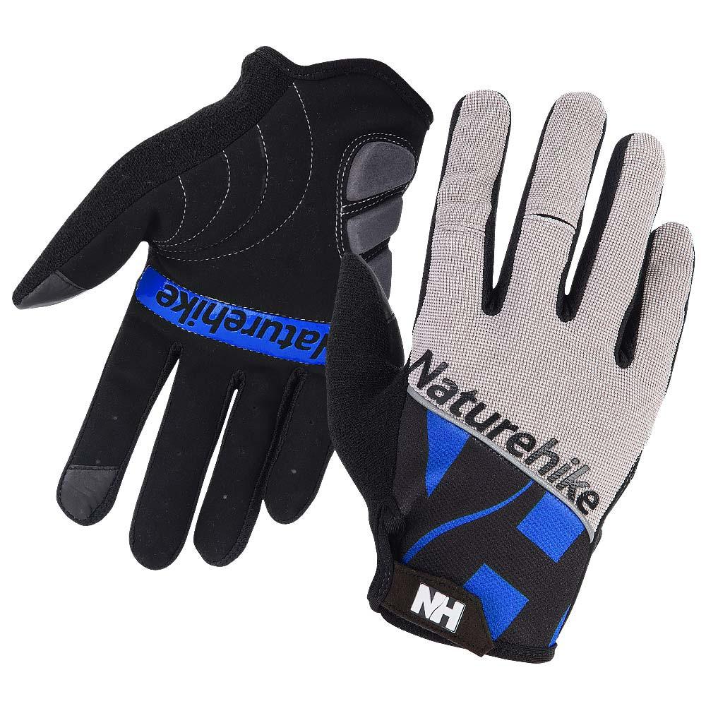 Велоперчатки NatureHike Cycling Two синий NH23S012-T