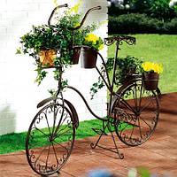Купить кованый велосипед в сад для цветов в Херсоне