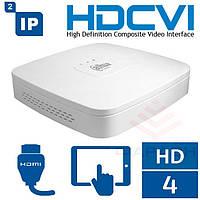 4-канальный HDCVI видеорегистратор Dahua DH-HCVR5104C-S3