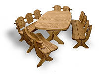Комплект меблів з твердої породи дерева КД-1