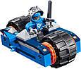 Конструктор лего нексо Lele 79239 Nexo Knights 383 дет Устрашающий разрушитель Клэя, фото 4