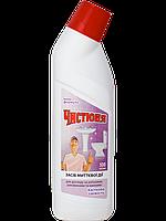 Чистюня WC Засіб для чистки Унітазу 500мл Квіткова Свіжість (4820168430503)