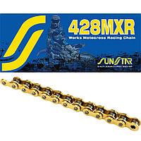 Приводная цепь 428MXR Gold Sunstar 428MXR-124G