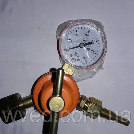 Редуктор газовый регулируемый с манометром