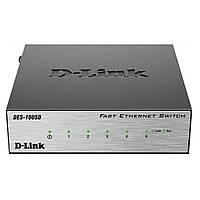 Коммутатор сетевой D-Link DES-1005D